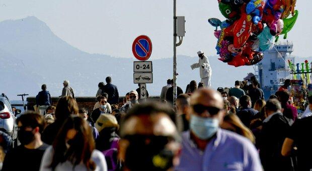La Campania rischia la zona rossa. Draghi, sceglie i lockdown mirati