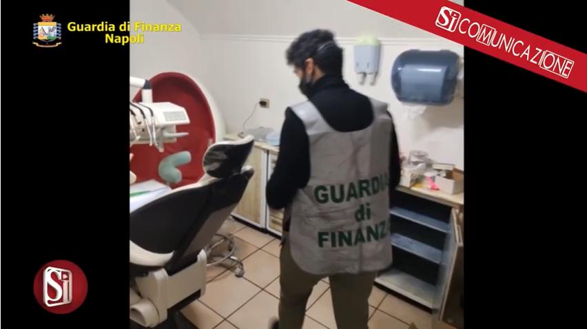 """La Guardia di Finanza """"fa visita"""" a un falso dentista di Soccavo"""