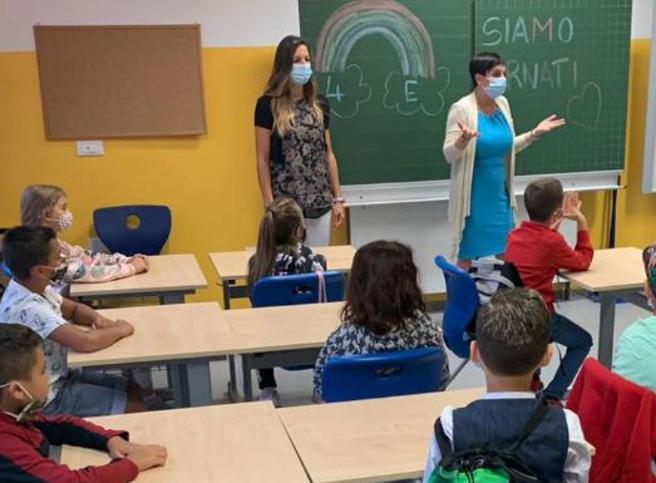 6 bambini positivi dopo il rientro a scuola