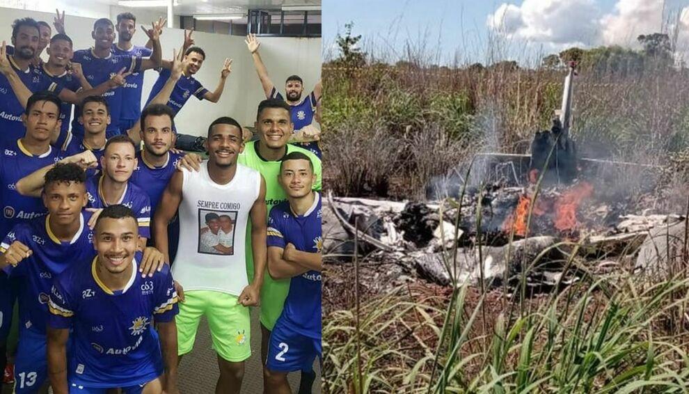 La squadra brasiliana del Palmas si schianta al suolo, 6 vittime tra giocatori e staff
