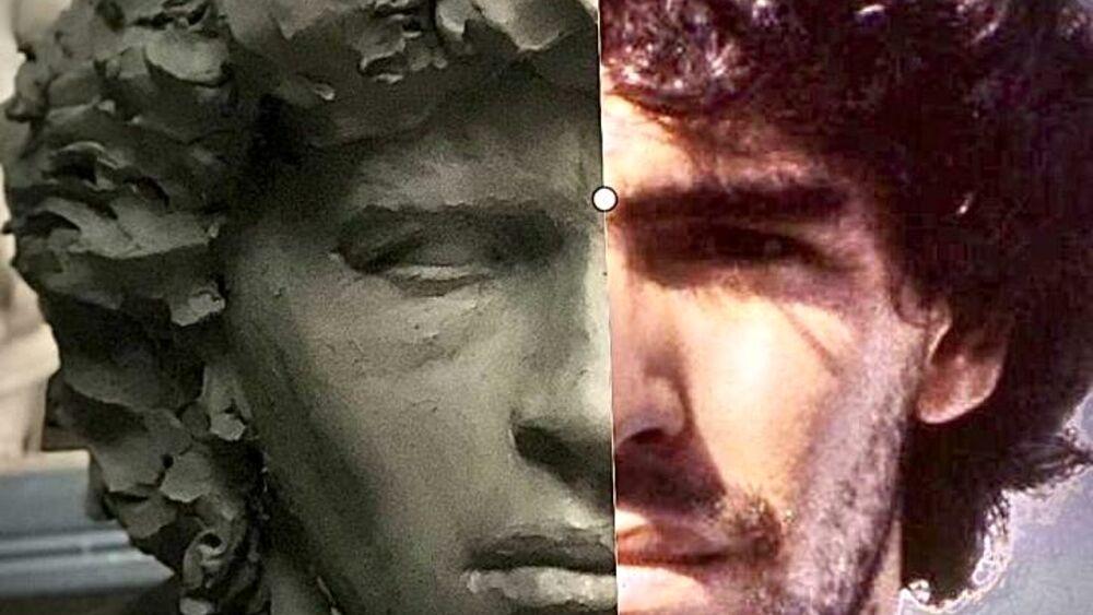 Napoli, la statua di Diego Armando Maradona è pronta