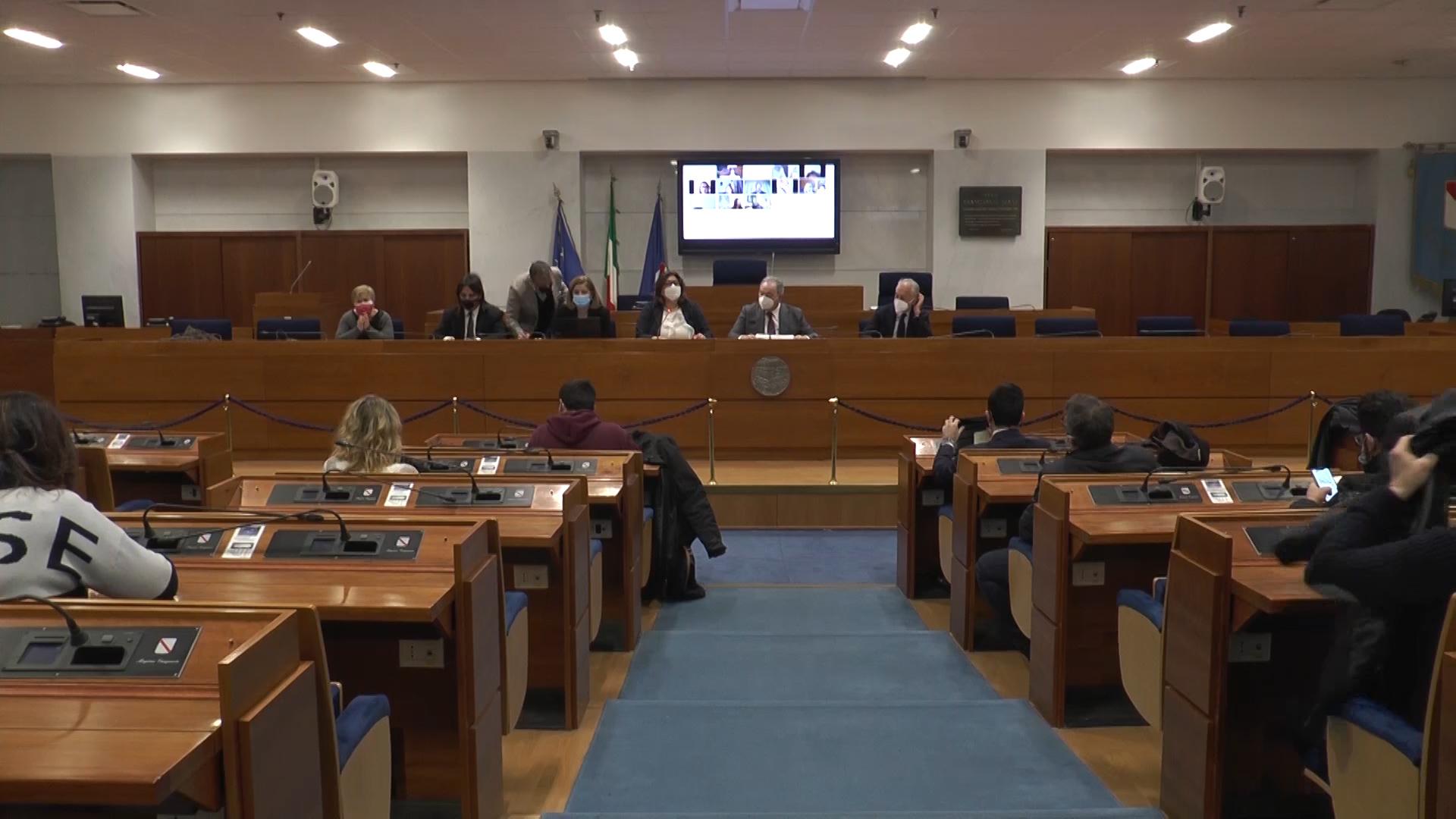 Puc e reddito di cittadinanza, incontro in Consiglio Regionale