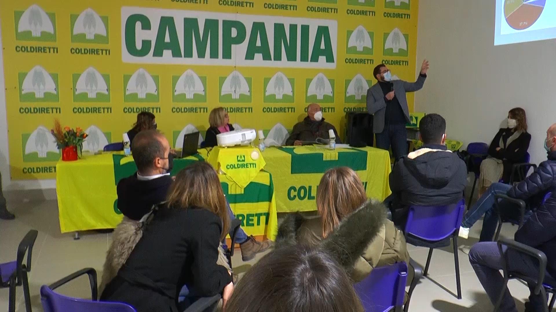 Rapporto Coldiretti Campania: agricoltura innovativa, smart e attenta all'ambiente