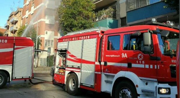 Fuorigrotta, incendio in un palazzo 2 morti e un ferito grave