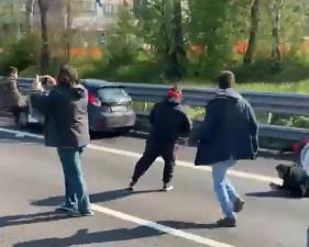 Proteste dei ristoratori, manifestante investito sull'A1