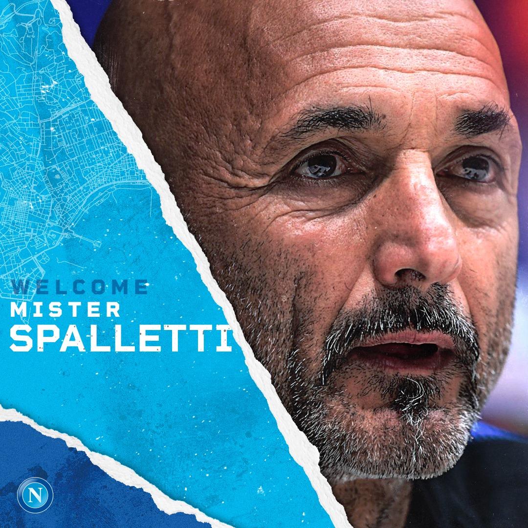 Spalletti nuovo allenatore del Napoli