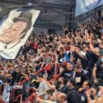 Il Napoli basket batte la Virtus Bologna al Palabarbuto. Un'impresa per la squadra di Sacripanti inattesa ma bellissima per i 2500 tifosi