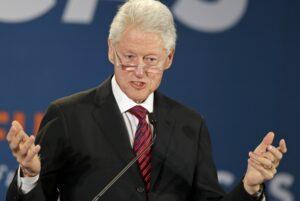 Clinton ricoverato